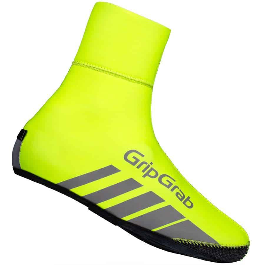 GripGrab RaceThermo Hi-Vis Yellow Skoovertræk | shoe cover