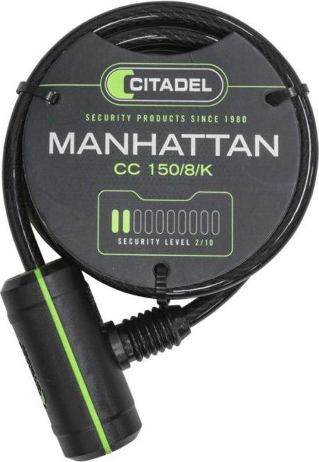 Spirallås Citadel 8 mm