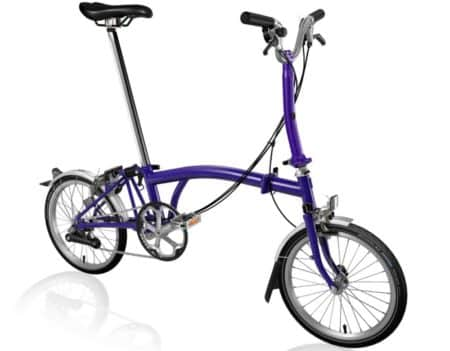 Brompton S2E Purple Metallic 2020