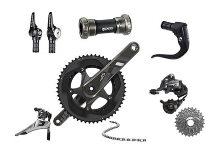 SRAM GROUPSET FORCE 22 TT GXP, 11 SPEED