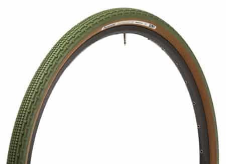 Panaracer Gravelking SK grøn/brun 700 x 38C (40-622)