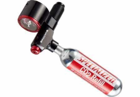 Specialized CPRO2 Gauge trigger CO2 pumpe med manometer