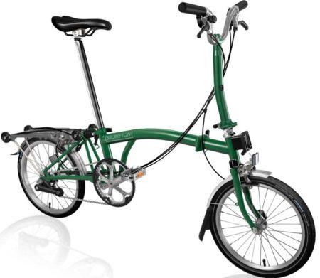 Brompton M6R Racing Green/Racing Green 2021