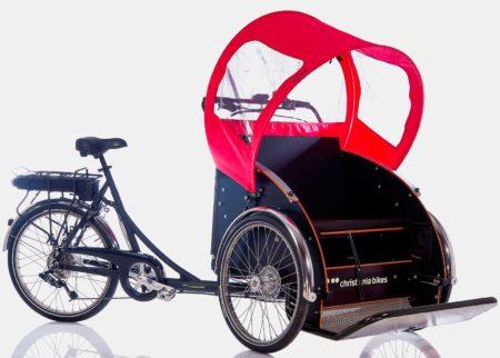 Christiania Bike e-Light Taxacykel – Cykling Uden Alder